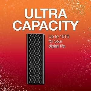 Seagate STEL8000100 Backup Plus Hub 8TB External Desktop Hard Drive Storage