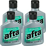 Afta After Shave Skin Conditioner Original 3 oz ( Pack of 4)