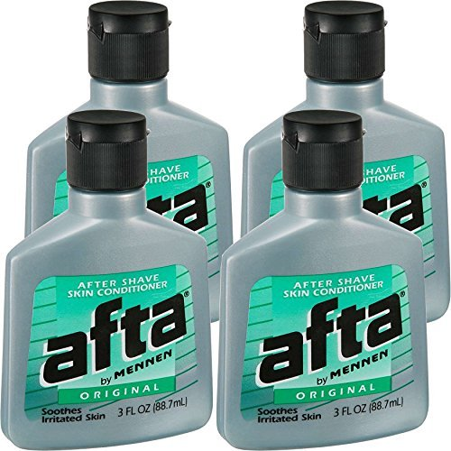 Afta Shave After - Afta After Shave Skin Conditioner Original 3 oz ( Pack of 4)