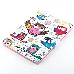 HPT The Owl Design PU Full Body Case with Stand for iPad Air