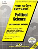 What Do You Know about Political Science?, Rudman, Jack, 0837371015