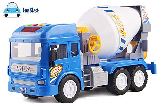 FunBlast Pull Back Vehicles Construction Truck, Friction Power Toy Trucks for 3+ Years Old Boys and Girls, Light & Sound Toy for Kids. (B07NCWZHZL) Amazon Price History, Amazon Price Tracker