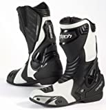 Cortech Latigo Air Men's Street Bike Motorcycle Boots - White/Black / Size 8