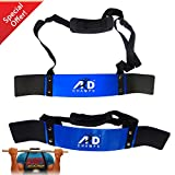 ARD-Champs Heavy Duty Arm Blaster Body Building Bomber Bicep Curl Triceps Blue