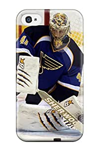 Hot Tpu Cover Case For Iphone/ 4/4s Case Cover Skin - St-louis-blues Hockey Nhl Louis Blues (101)