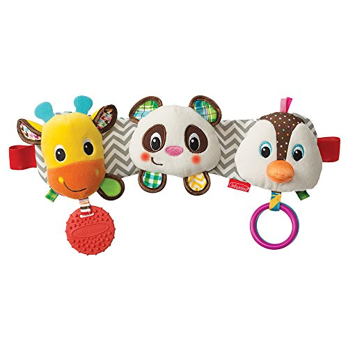Infantino Stretch and Play Musical Travel Trio (Baby Toy Trio)