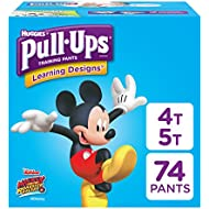Pull-Ups Learning Designs Potty Training Pants for Boys...