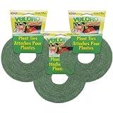 Velcro 3-Pack - Velcro Plant Ties 45 Feet X 1/2 Inch