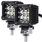 LED Pods , ADZOON 2'' 27W Motorcycle Driving Lights Waterproof Mini Cubes LED for Dirt Bike Bicycle Sightseeing Vehicle Truck Jeep SUV Boat