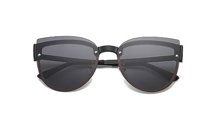 DONG Gafas de sol polarizadas Niños Gafas de sol de protección UV de marco redondo para
