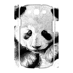 D-PAFD Panda Customized Hard 3D Case For Samsung Galaxy S3 I9300