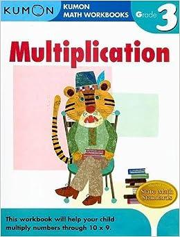 grade 3 multiplication kumon math workbooks kumon publishing 8601417252536 books. Black Bedroom Furniture Sets. Home Design Ideas