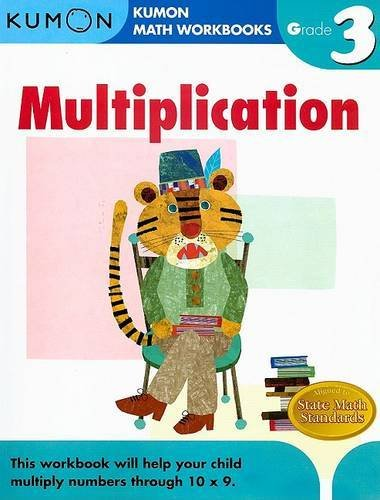 Grade 3 Multiplication (Kumon Math Workbooks): Kumon Publishing ...