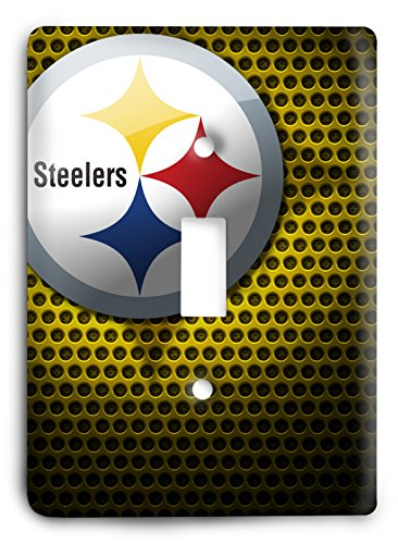 NFL Come Hard Steelers Light Switch Cover