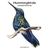 Hummingbirds Coloring Book for Grown-Ups 1