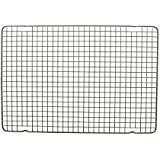 Nordic Ware 43343 Oven Safe Nonstick Baking & Cooling Grid (1/2 Sheet), One, Steel
