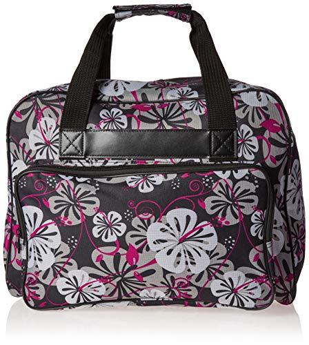 (Janome Black Universal Sewing Machine Tote, Canvas)