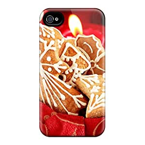 Fashion TxP24281yyek Cases Covers For Iphone 6(christmas Cookies)