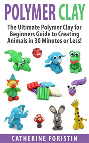 Image of: Blue Whale Polymer Clay The Ultimate Beginners Guide To Creating Animals In 30 Minutes Or Less Diy Tutorial Polymer Clay The Ultimate Beginners Guide To Creating Animals In 30