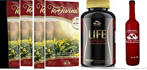 super-weight-loss-pack-with-popular-4-pack-of-tedivina2536-fl-ounce-factor-divina-and-life-capsules