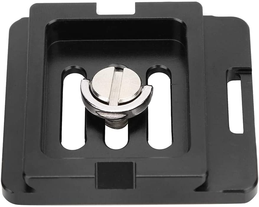 Delaman Quick Release Plate Aluminium Alloy Universal Plate with Tripod Ballhead Compatible with SiruiTY50X G Series KX Series