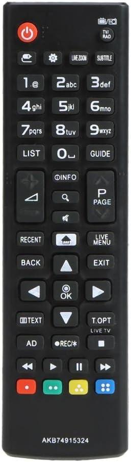 433MHz reemplazo de Control Remoto inalámbrico Inteligente para LGAKB74915324