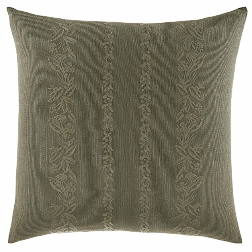 Tommy Bahama Nador Linen Texture Throw Pillow, 18 x 18, Green