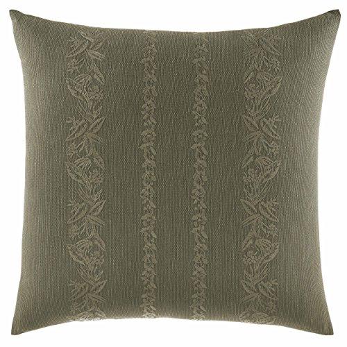 Tommy Bahama Nador Linen Texture Throw Pillow, 18x18, Green