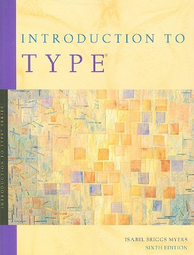 Introduction to Type: A Guide to Understanding Your Results on the MBTI Instrument 6th edition by Myers, Isabel Briggs (1998) Paperback