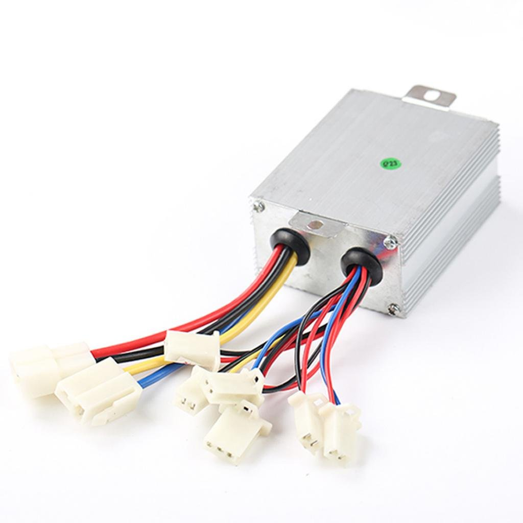 24v 500w Motor Brushed Speed Controller For E Bike Electric Scooter Basic Wiring Diagram Sports Outdoors