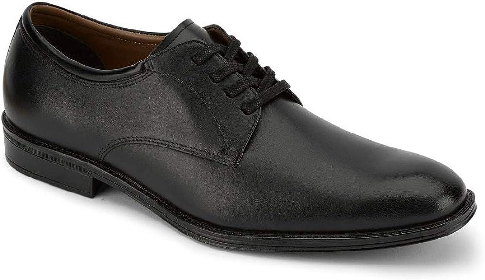 Dockers Mens Powell Leather Dress Plain Toe Oxford Shoe