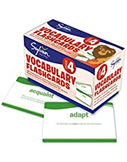 4th Grade Vocabulary Flashcards: 240 Flashcards for Improving Vocabulary Based on Sylvan's Proven Techniques for Success