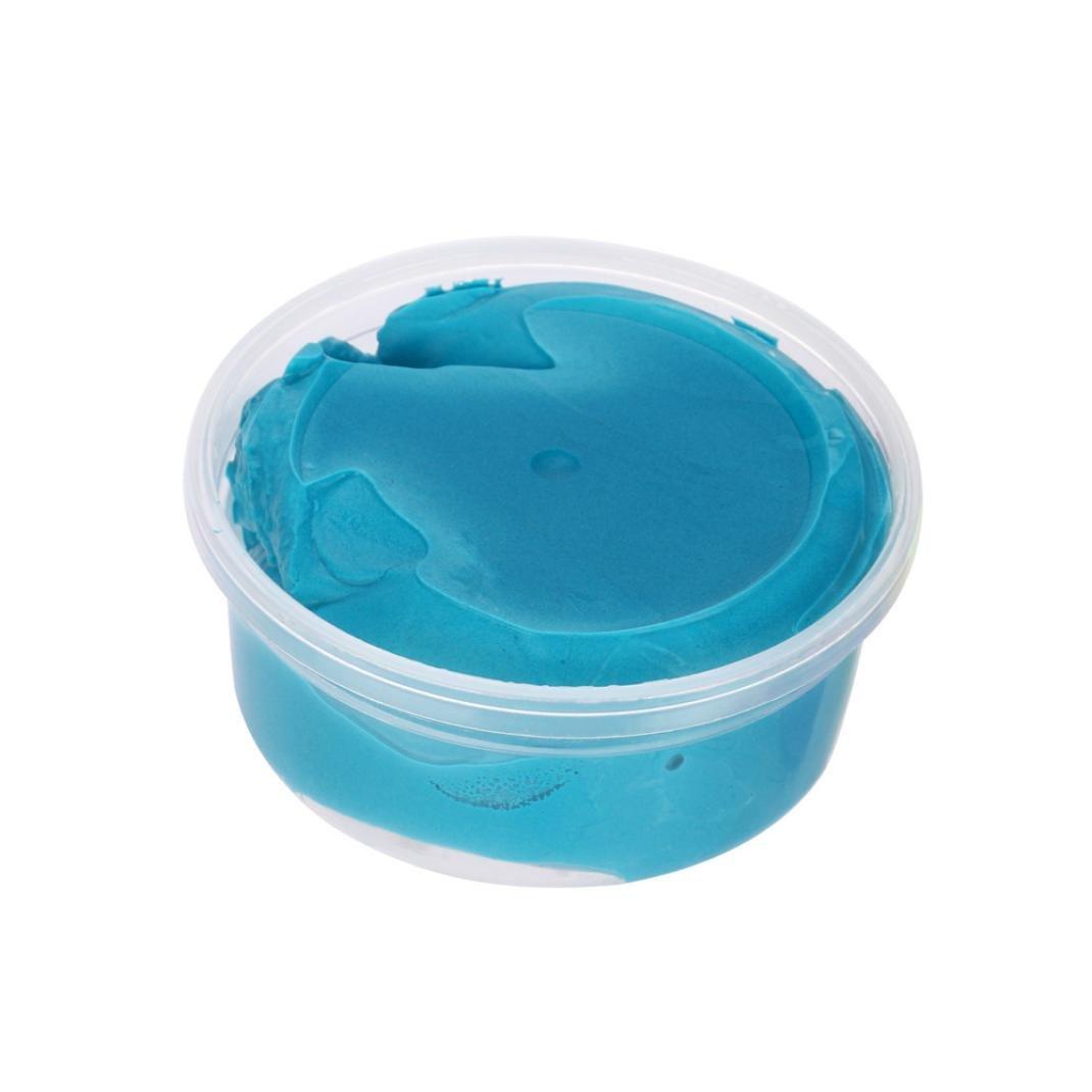 TWIFER Fluffy Floam Slime Duft Stress Relief Keine Knetmasse Plastilin Kinder Spielzeug Schlamm Spielzeug (1PC, A) TWIFER -D1104