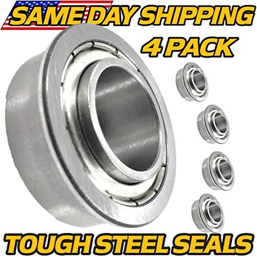 (4 Pack) Ariens Gravely 05408900 Flange Bearing - Sealed Steel Seals - HD Switch free shipping