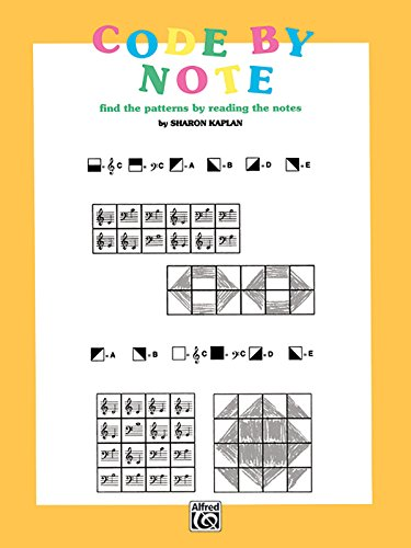 Code by Note, Bk 1: Find the Patterns by Reading the Notes, Coloring Book (Color by Note)