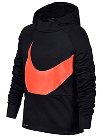 98bb47cf0bd7 Amazon.com  Nike Therma Fleece GFX Pullover Hoodie - Boys  Grade ...