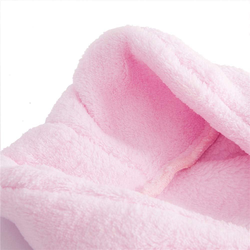 Mignonne Unisexe Nouveau-n/é Peignoir avec Serviette Bain Douche Piscine pour 0-6 mois Accessoires de Photographie Rose
