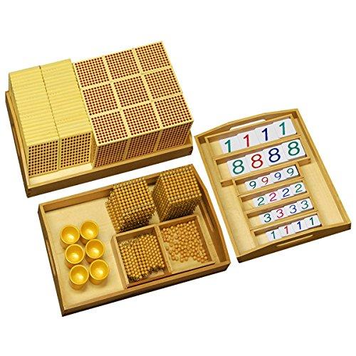 Montessori Golden Bead Material