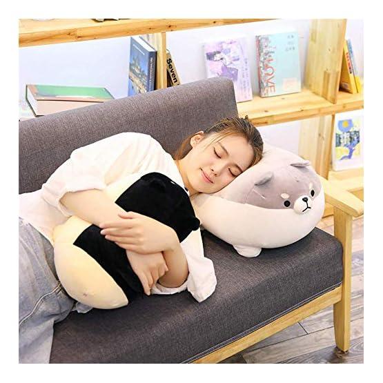 Shiba Inu Plush | Black Dog Plush Pillow | By Auspicious Beginnings 7