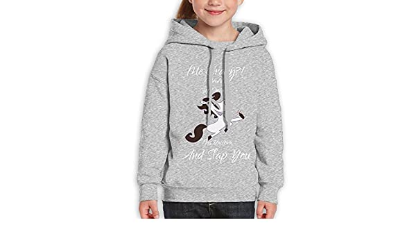 DTMN7 Brazil Cute Printed Crew-Neck Hoodie For Teen Girl Spring Autumn Winter