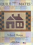 "21"" X 28"" Rug Quilt Mates School House Locker Hooking Using Quilt Patterns"