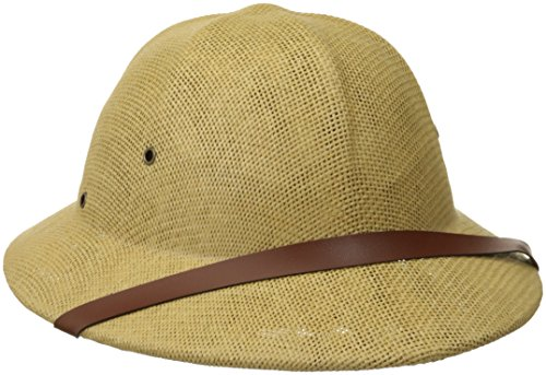 Jacobson Hat Company Men's Pith Helmet, Tan,