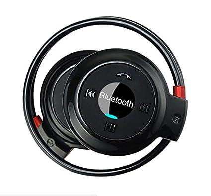 LawUza - Auriculares inalámbricos Bluetooth Deportivos Estéreo con Radio FM