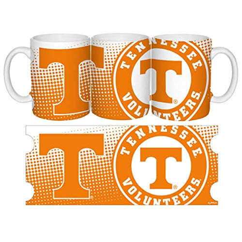 (GAMEDAY OUTFITTERS UNIVERSITY OF TENNESSEE Tennessee Volunteers MUG CERAMIC GRANDE DOT PATTERN (15OZ) 50105)