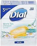 Dial Glycerin Bar Soap, White Tea & Vitamin E, 4-Ounce Bars (pack of 3)
