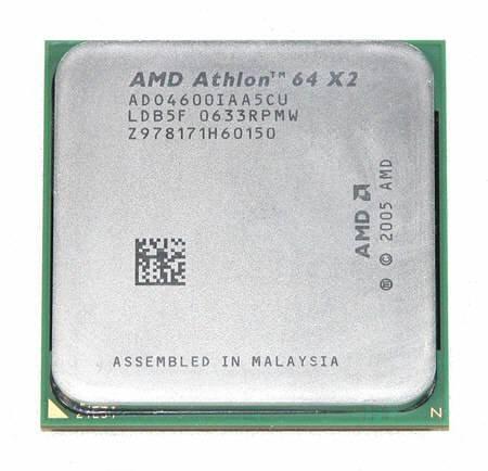 (AMD Athlon 64 X2 4600+ 2.4GHz 1MB Socket AM2 Dual-Core CPU)