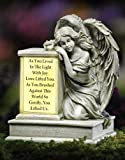 Solar Lighted Memorial Angel Sculpture By Collections Etc