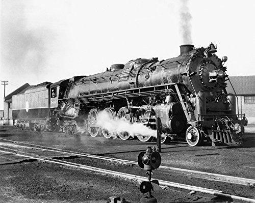 Posterazzi GLP469052LARGE Poster Print Collection Locomotive: 'Big Boy ' 1941./Nan Atlantic Coast Line Railroad Locomotive. Poster Print By, (24 X 36), Multicolored