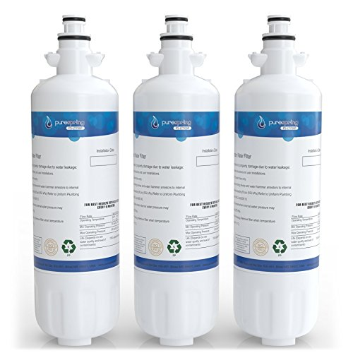 PureSpring LG-LT700P Refrigerator Water-Filter Compatible Cartridge - Replaces LG LT700P, Kenmore 46-9690, 469690, ADQ36006101, ADQ36006102 (3 Pack) by PureSpring (Image #6)