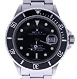 Rolex Submariner automatic-self-wind mens Watch 16800 (Certified Pre-owned)